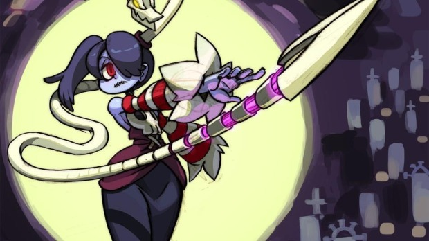 Skullgirls-Action-Squigly